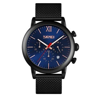 Skmei 9203 Simple Men Quartz Watch Male Waterproof Wristwatch Time Date Stopwatch Clock Fashion Business Watch